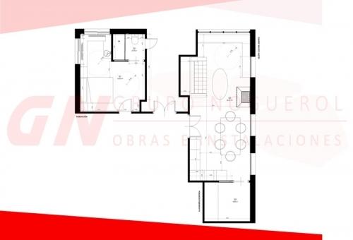 Reforma interior vivienda unifamiliar